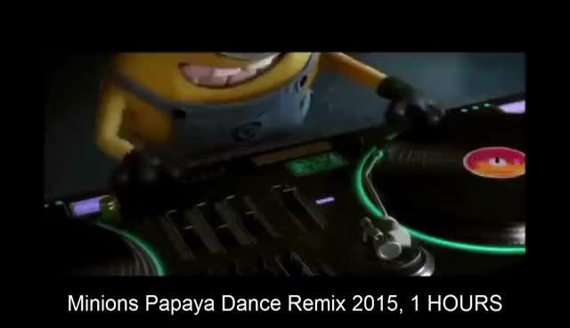 Papaya dance minions
