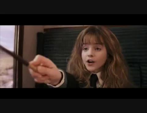 hermione granger, spell, oculus reparo GIFs