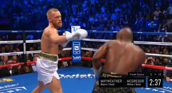 Watch Mayweather Elbow GIF on Gfycat. Discover more related GIFs on Gfycat