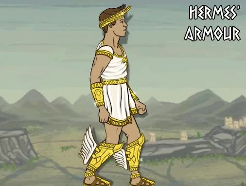 Watch and share Hermes' Armour GIFs by Mega Dwarf on Gfycat