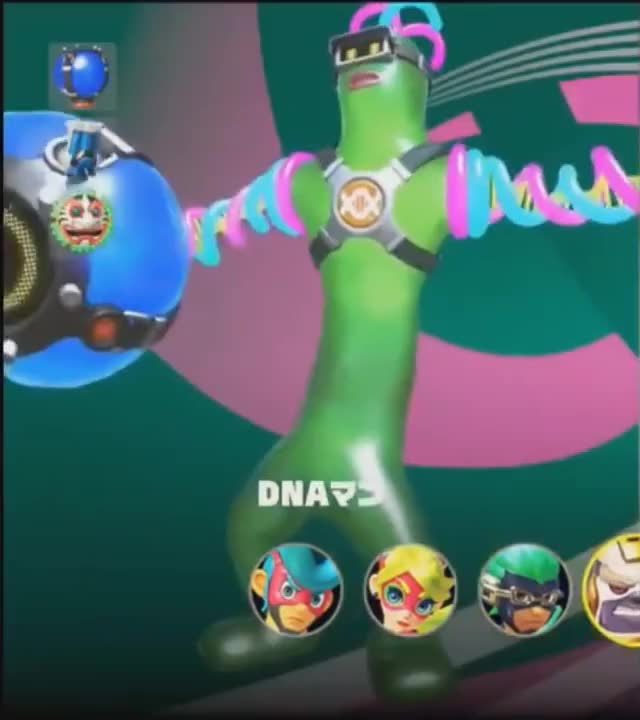 Watch DNA Man (Helix) GIF on Gfycat. Discover more helix, nintendoswitch GIFs on Gfycat