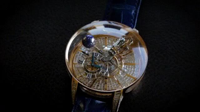 Watch and share This $1million Jacob & Co Astronomia Watch. GIFs by Mahmoud M. Mahdali on Gfycat