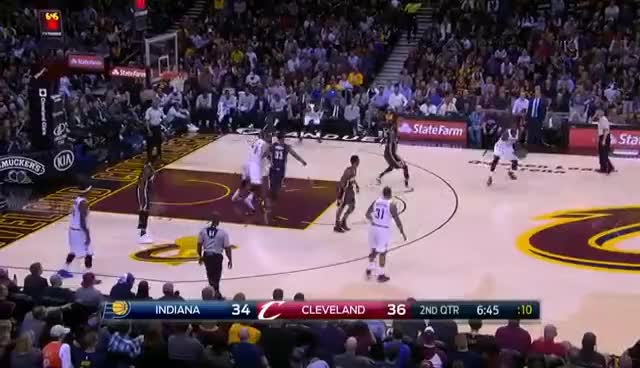 4b0059915d1 Watch LeBron James dunks on Paul George GIF on Gfycat. Discover more  related GIFs on