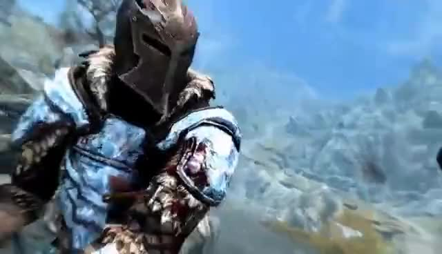 Watch and share Skyrim SE Builds - The Cryomancer - Remastered Build GIFs on Gfycat