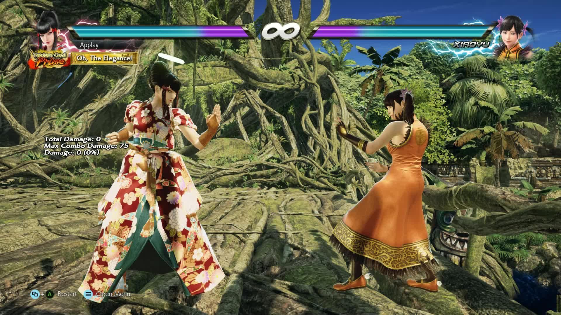 Kazumi, Tekken, Tekken 7, Kazumi - Jungle Outpost optmized balcony combo GIFs
