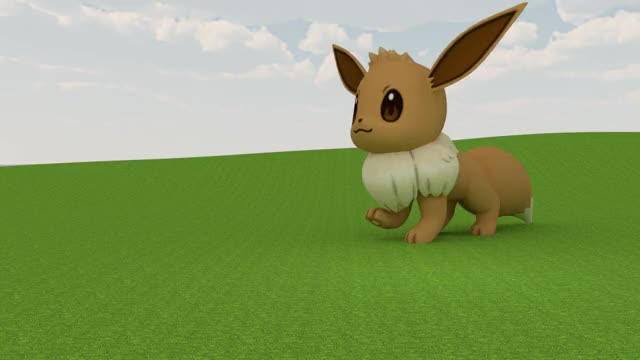 Eevee Run Cycle Animation (reddit) GIF by (@dummiesbelow)   Find