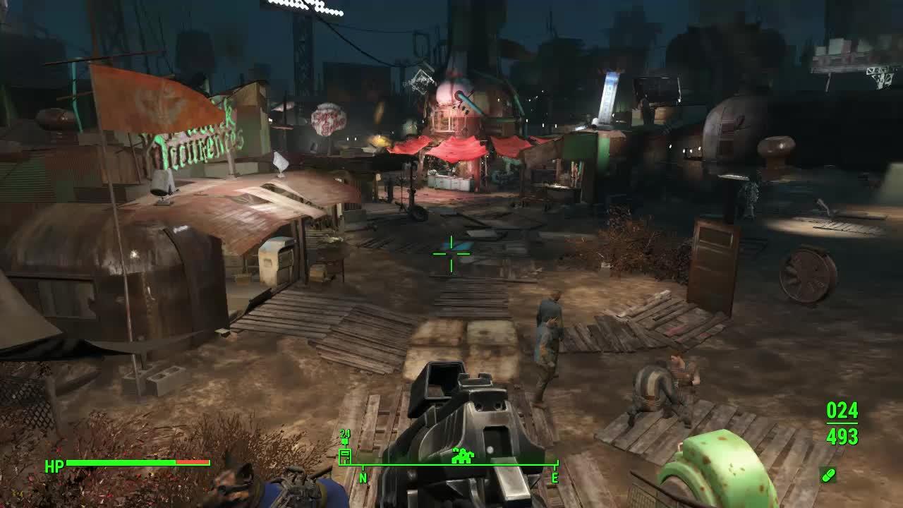 Diamond City disappearing bug GIFs