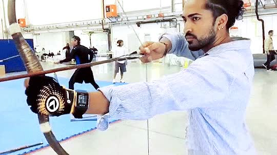 Watch this archery GIF by Reaction GIFs (@sypher0115) on Gfycat. Discover more archery, bow and arrow, marco polo, marcopolo, netflix, series GIFs on Gfycat