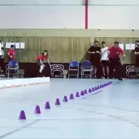 Rollerblade, fast, Rollerblade slalom GIFs