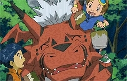 digimon, digimon tamers, growmon, jenrya lee, my gifs, takato matsuda, terriermon, Digimon Rewatch GIFs
