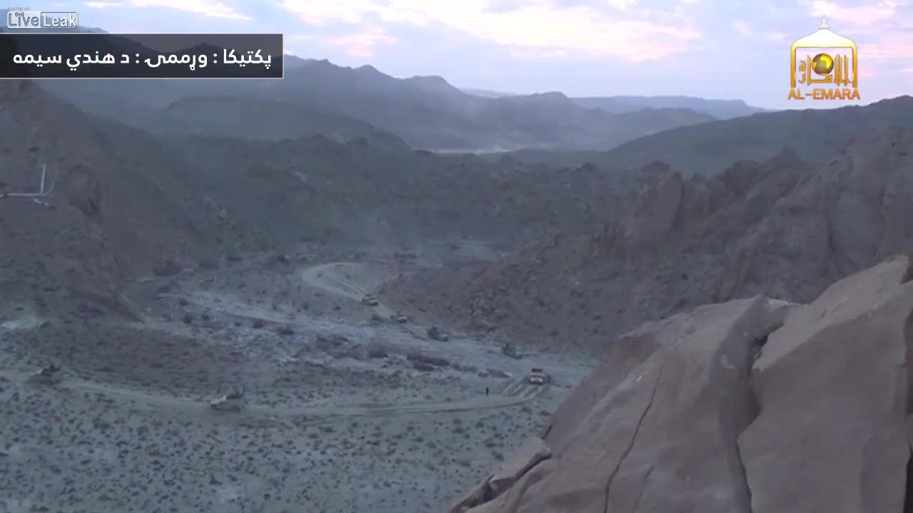 The 1st minute of a Taliban ambush on an ANA convoy. GIFs