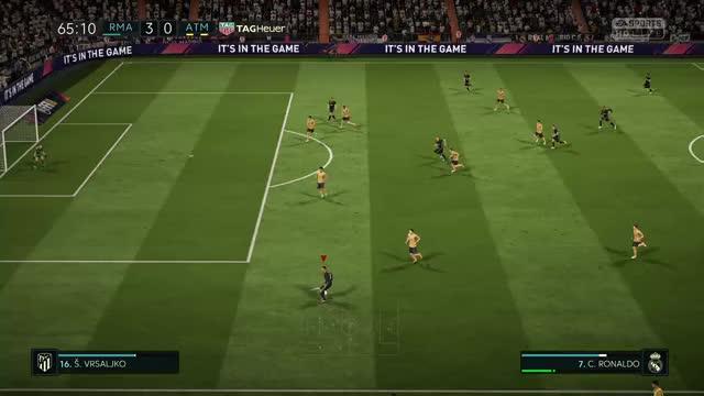 Watch ronaldo  op  GIF by Xbox DVR (@xboxdvr) on Gfycat. Discover more FIFA18Demo, dalvu5, xbox, xbox dvr, xbox one GIFs on Gfycat