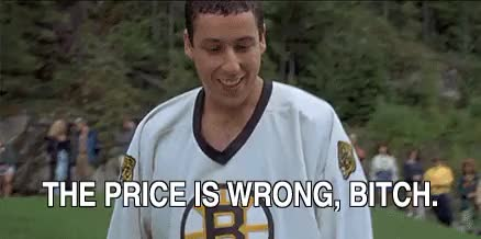 Watch old bitch old bitch The price is wrong The price is wrong the price is wrong bitch,adam sandler,happy gilmore,the price is right,bob barker (reddit) GIF by @jeff_goldblum on Gfycat. Discover more related GIFs on Gfycat