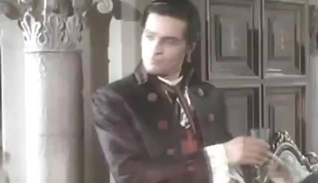 Watch and share Alain Delon & The Second Waltz GIFs on Gfycat