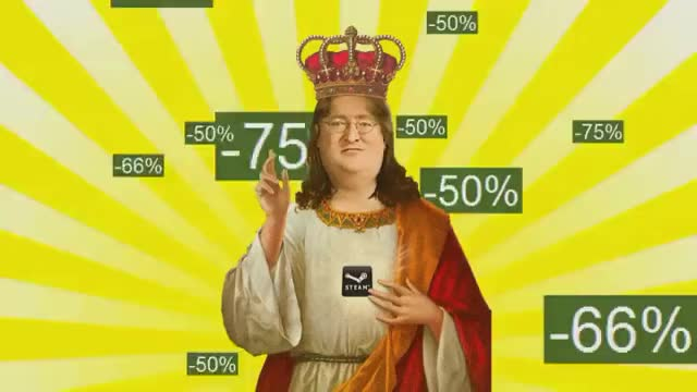 Watch and share Gabe Newell GIFs on Gfycat