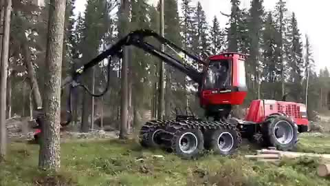 Watch and share Komatsu 931 Harvester. Https T.co BjDy2zFQ30 GIFs on Gfycat