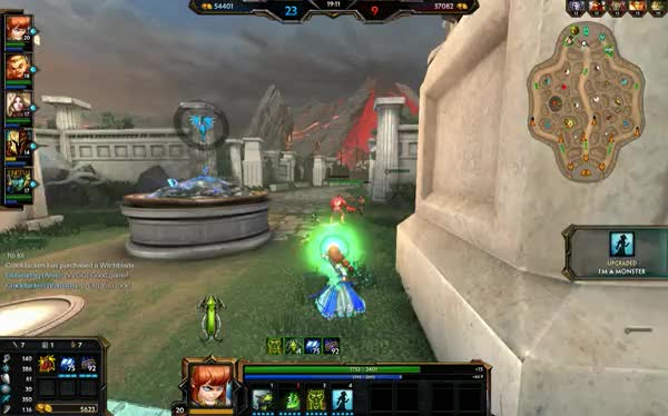 Watch and share Ares, Athena, Scylla Ult GIFs on Gfycat