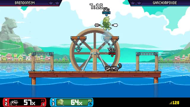 Watch and share Watch Garchompdude's Rivals Of Aether Video: Totally Ment To Do That - Plays.tv GIFs on Gfycat