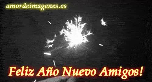 Watch and share Feliz Año Nuevo Amigos GIFs on Gfycat