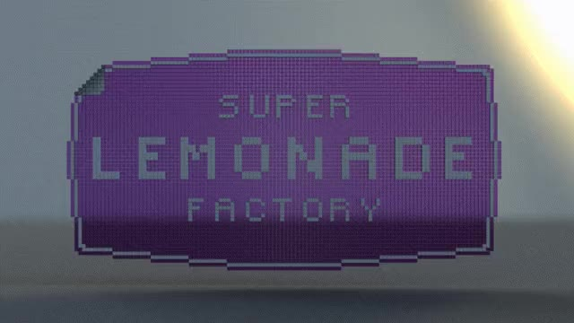 Watch and share Super Lemonade Factory Logo Large GIFs by initials on Gfycat