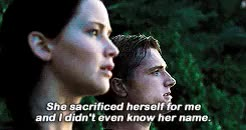 Watch and share I Love My Son Peeta GIFs and Katniss Everydeen GIFs on Gfycat