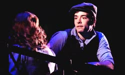 Watch and share Katherine Plumber GIFs and Newsies On Tour GIFs on Gfycat