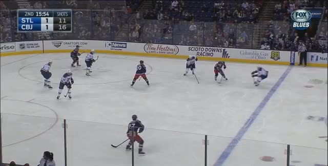 Watch and share Bluejackets GIFs and Hockey GIFs by berix on Gfycat