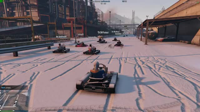 Watch and share Go Kart Race GIFs by exar__ on Gfycat