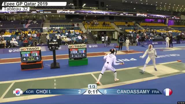 Watch CHOI L 2 GIF by Scott Dubinsky (@fencingdatabase) on Gfycat. Discover more gender:, leftname: CHOI L, leftscore: 2, rightname: CAN DASSAMY, rightscore: 6, time: 00021170, touch: right, tournament: doha2019, weapon: epee GIFs on Gfycat