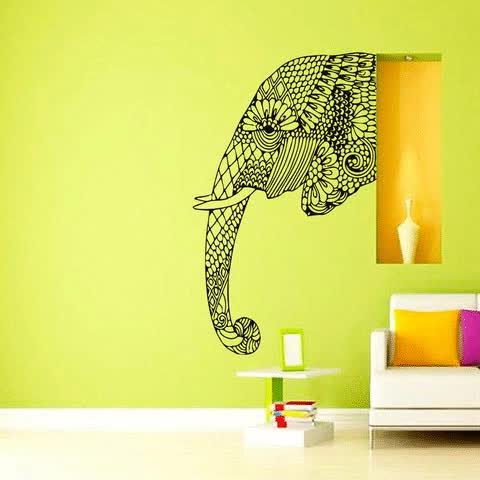 Watch Modern Colorful Wall Art GIF by Ashok Treasures (@ashoktreasures) on Gfycat. Discover more Meditation Moon Wall Art, Psychedelic Fabric Decoration Posters GIFs on Gfycat