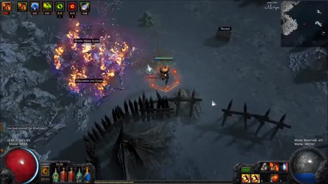 Watch and share Flicker Strike GIFs and Path Of Exile GIFs by scribblez on Gfycat