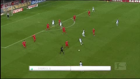 Watch Cicero. Koln - Wolfsburg. 2010-11 GIF by @fatalali on Gfycat. Discover more related GIFs on Gfycat