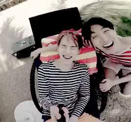 Watch and share Jung Hoseok GIFs and Min Yoongi GIFs on Gfycat
