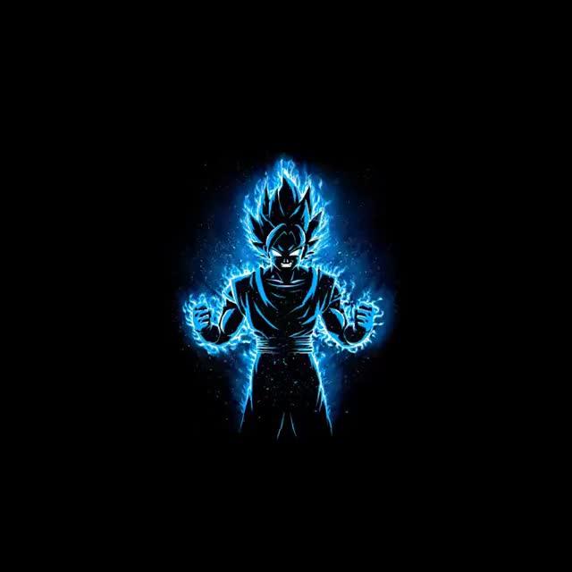 Watch and share Goku SSB Animated Live Wallpaper | DBS GIFs on Gfycat