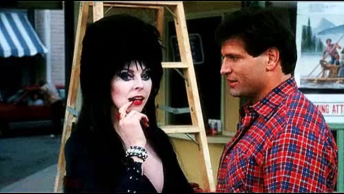 Watch and share Cassandra Peterson GIFs and Queen Of Darkness GIFs on Gfycat