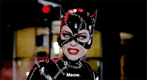 Watch and share Michelle Pfeiffer GIFs and Catwoman GIFs on Gfycat