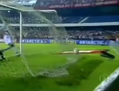 Watch and share Gol Do Alex!!!!! Humilha Rogerio Ceni GIFs on Gfycat
