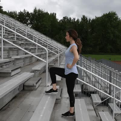 Watch and share 400x400 Stair Workout Step Up GIFs on Gfycat