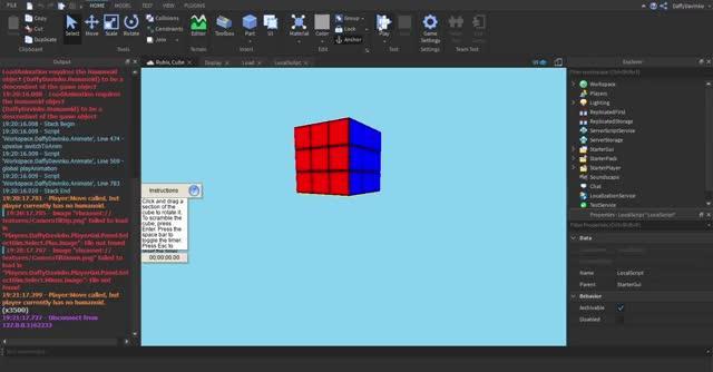 Watch and share Rubix, Cube - Roblox Studio 2019-09-01 19-23-26 GIFs on Gfycat