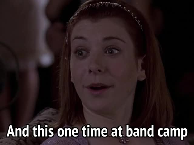 Watch and share Alyson Hannigan GIFs and American Pie GIFs by MikeyMo on Gfycat