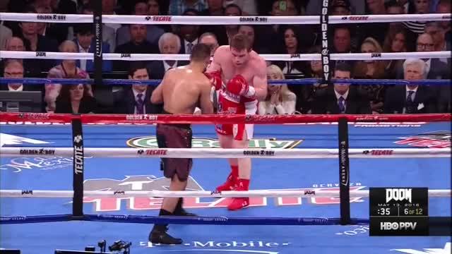 Watch Saul 'Canelo' Alvarez vs. Amir Khan - KO GIF by Tom_Cody (@tomcody) on Gfycat. Discover more Amir Khan, Boxing, Canelo, Canelo Alvarez, KO, Knockout, Saul Alvarez GIFs on Gfycat