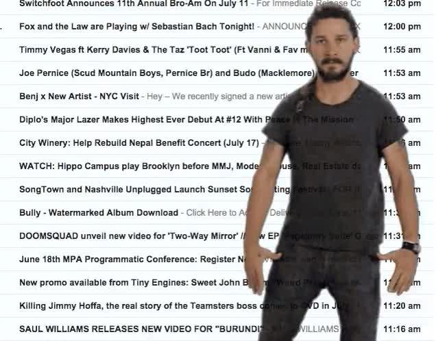 Watch and share Shia Labeouf GIFs on Gfycat