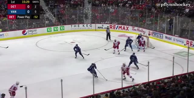 Watch and share Detroit Red Wings GIFs and Vancouver Canucks GIFs by peterwiim on Gfycat