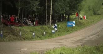 Watch  Sebastien Ogier GIF on Gfycat. Discover more Cars, Gif, Gifs, Motorsport, Rally, Sebastien Ogier, Sport, WRC, World Rally Championship GIFs on Gfycat