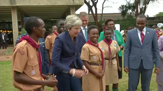 Watch and share Theresa May GIFs and Itv News GIFs on Gfycat