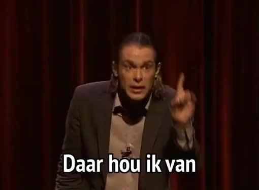 Watch and share Hans Teeuwen - Daar Hou Ik Van GIFs by MikeyMo on Gfycat