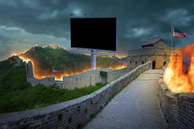Watch and share Great Firewall Of America.mov GIFs by Artist on Gfycat