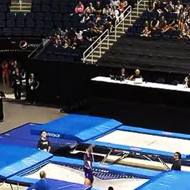 Watch and share Charlotte Drury GIFs and Gymnastics GIFs on Gfycat