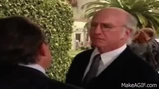 Watch and share Suspicious Larry David GIFs on Gfycat