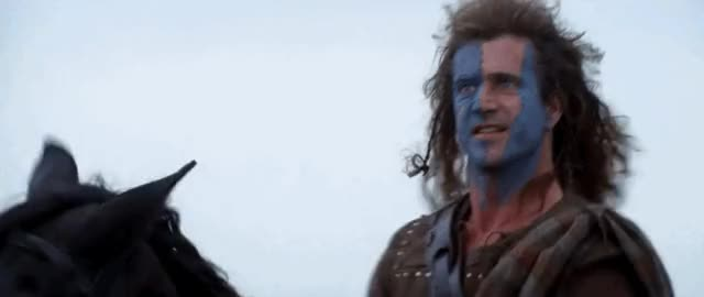 Watch and share William Wallace GIFs on Gfycat